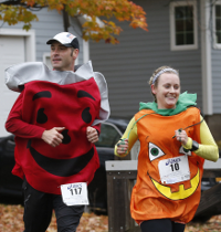 Wear a Halloween costume to the run